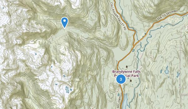 Brandywine Falls Park Map