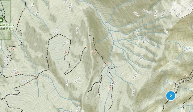 Bridal Veil Falls Park Map