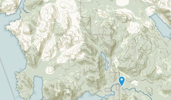 Cape Scott Park Map
