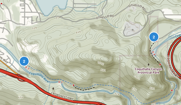 Coquihalla Canyon Park Map