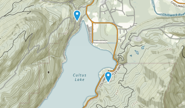 Cultus Lake Park Map