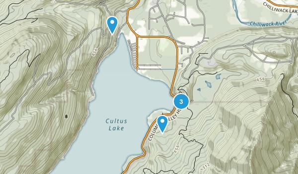 Cultus Lake Park Map
