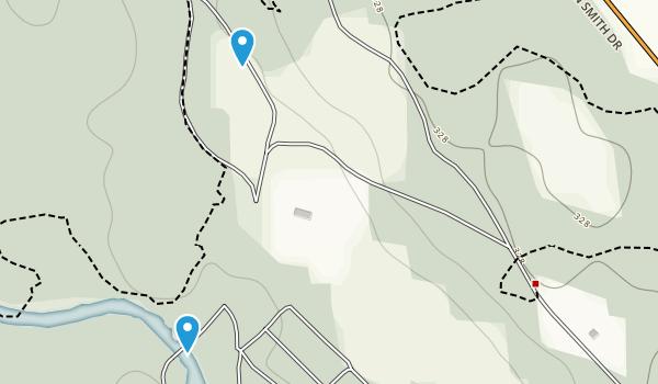 Fitzroy Provincial Park Map