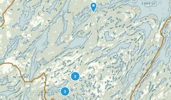 Frontenac Provincial Park Map