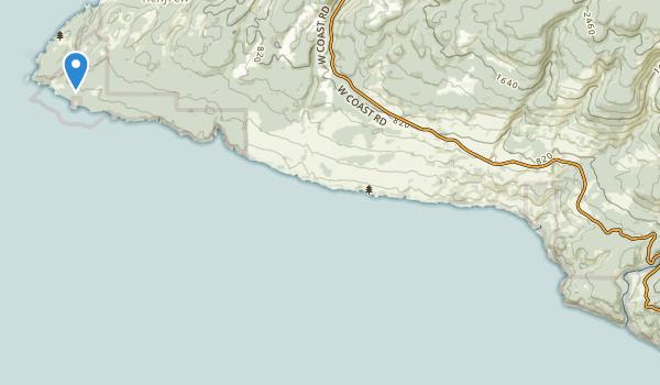 trail locations for Juan de Fuca Park