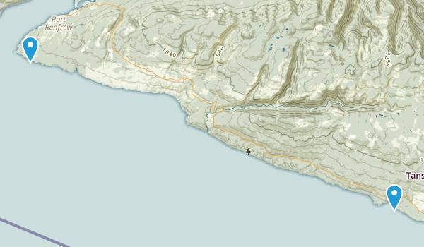 Juan de Fuca Park Map