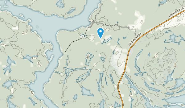 Mashkinonje Provincial Park Map