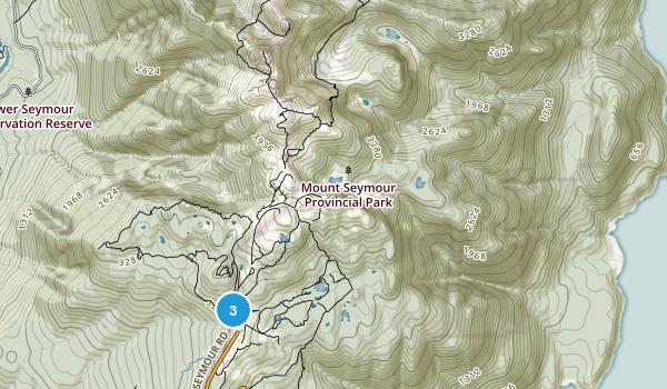 Mount Seymour Park Map