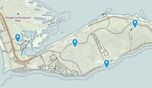 Presqu'ile Provincial Park Map