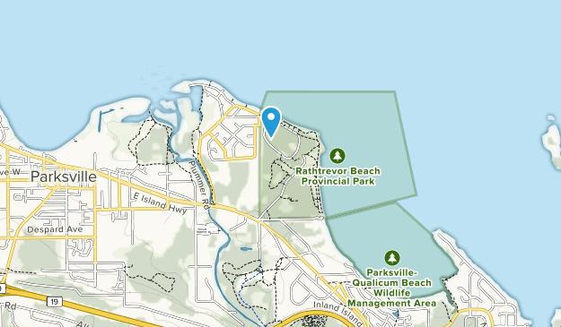 Rathtrevor Beach Park Map