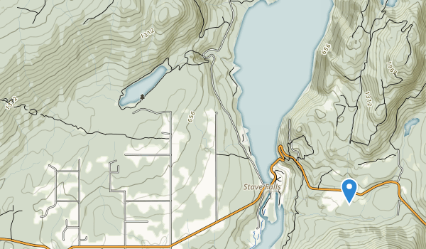 trail locations for Rolley Lake Park