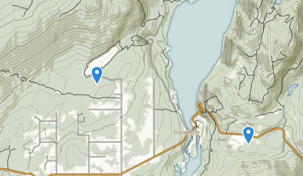 Rolley Lake Park Map