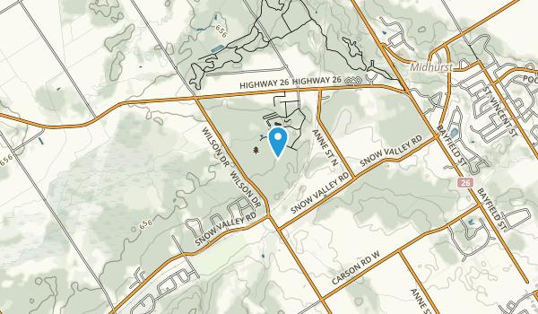 Springwater Provincial Park Map