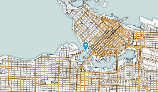 Vanier Park Map