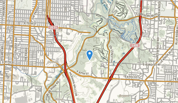 Blue River Parkway Map
