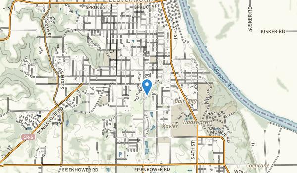 Buffalo Bill Park Map