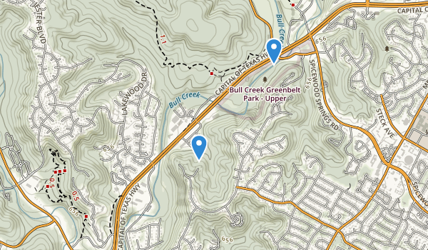 Bull Creek District Park Map