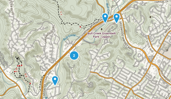 Bull Creek District Park Map