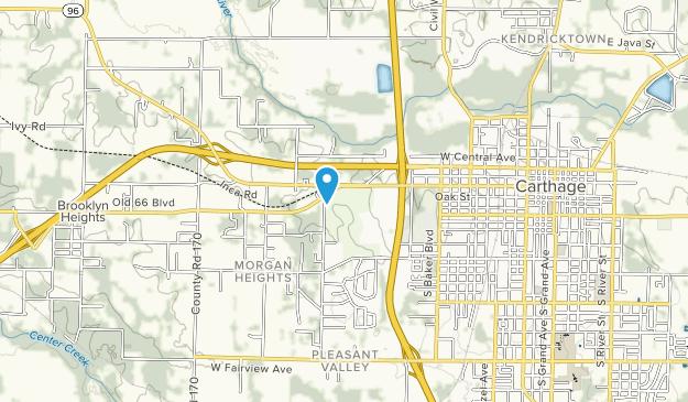 Carthage Municipal Park Map