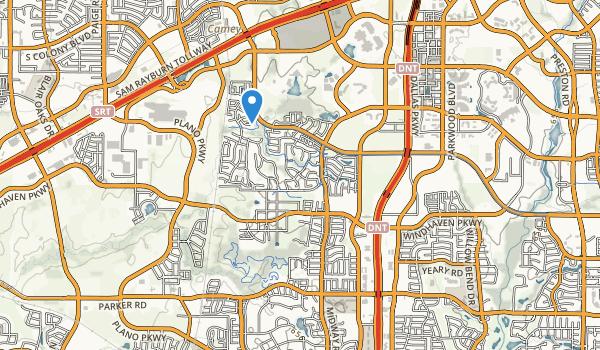 Cayote Creek Park Map