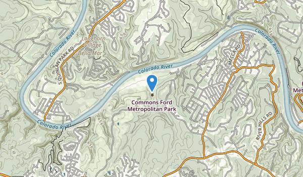 Commons Ford Metropolitan Park Map