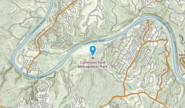 Commons Ford Metropolitan Park Map