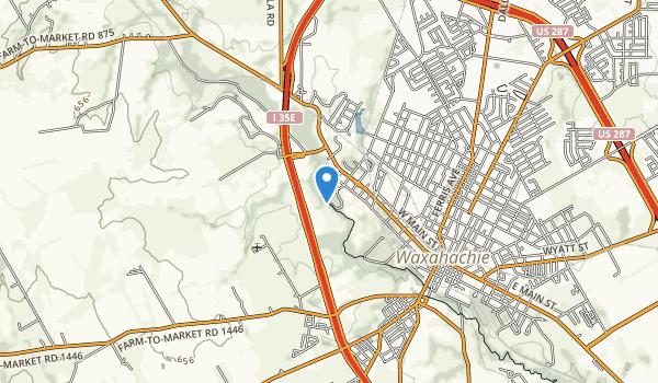 trail locations for Getzendaner Mem Park
