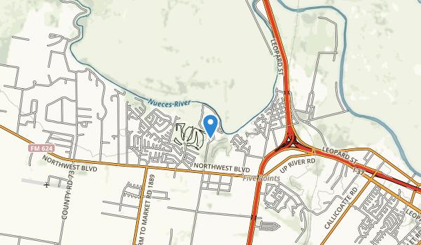 Hazel Bazemore Park Map