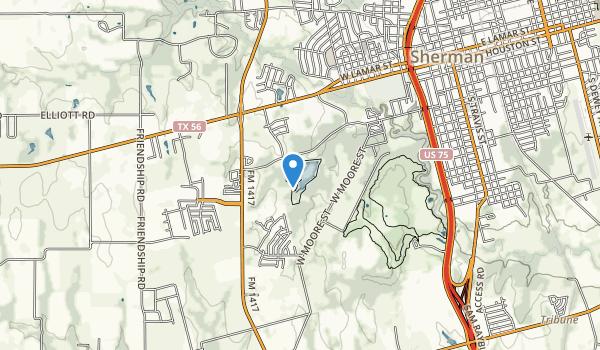 Herman Baker Park Map