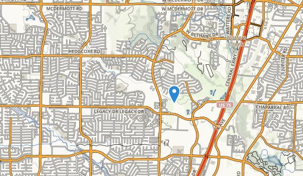 Hoblitzelle Park Map