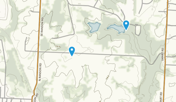 James A Reed Wildlife Area Map