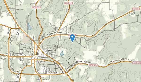 Jim Hogg State Park Map