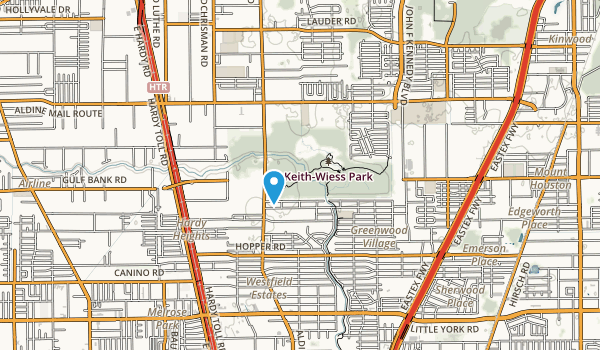 Keith Weiss Park Map