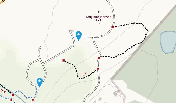 Lady Bird Johnson Park Map