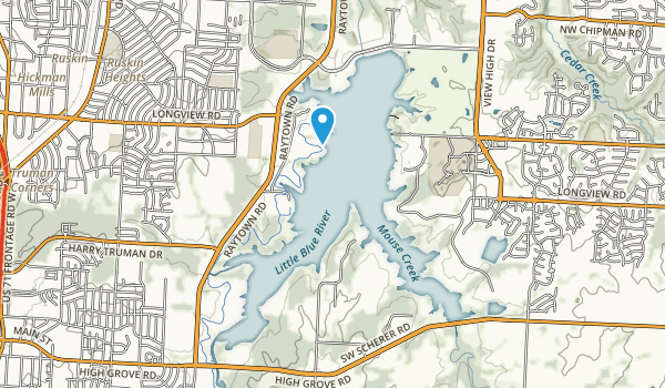 Longview Lake Park Map