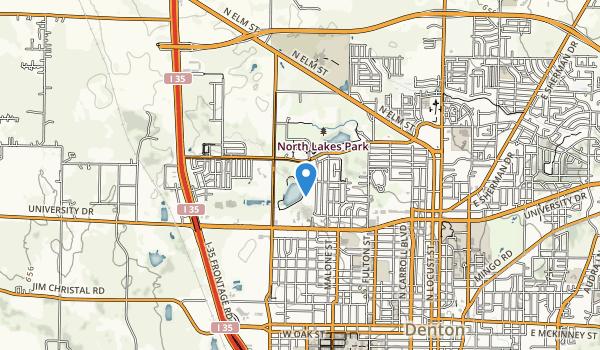 North Lake Park Map