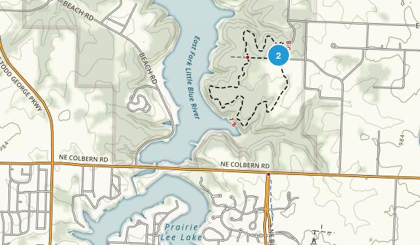 North Prairie Lee Park Map