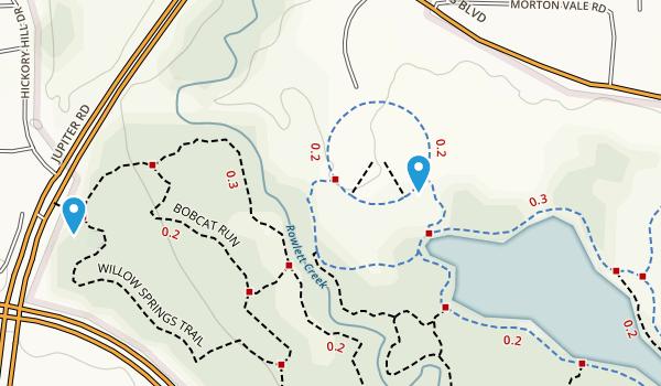 Oak Point Pk & Nature Preserve Map