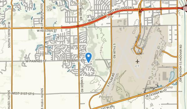 Pawnee Prairie Park Map