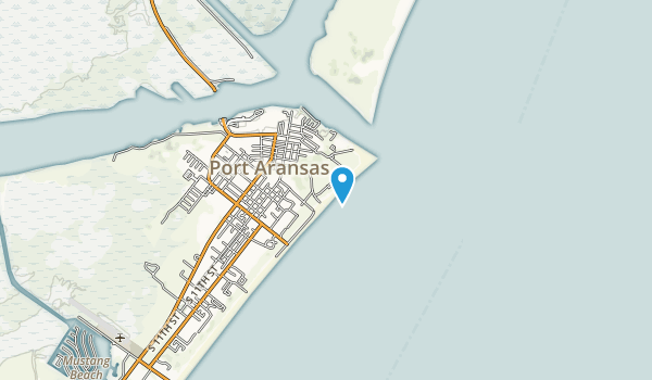 Port Aransas Park Map