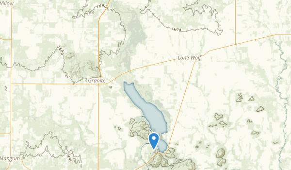 Quartz Mountain State Park Map