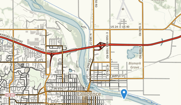 trail locations for Riverfront Park
