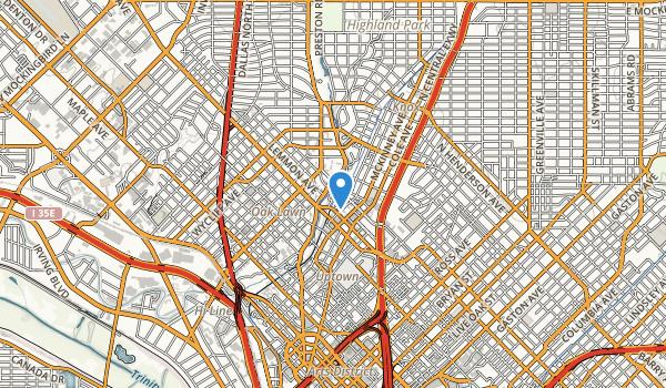 Robert E Lee Park Map