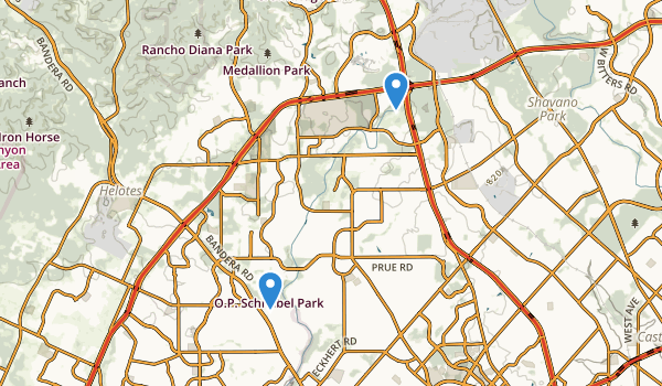 Schnabel Park Map