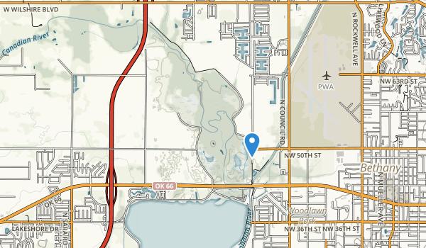 trail locations for Stinchcomb Wildlife Refuge