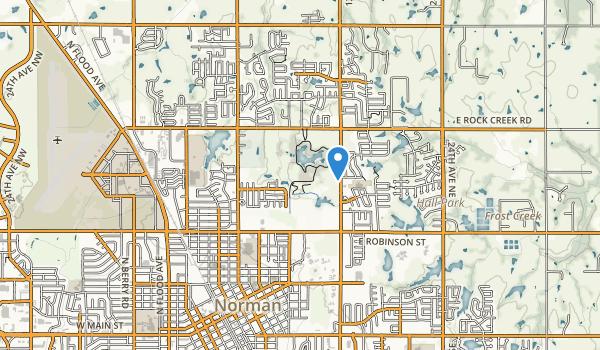 trail locations for Sutton Place Park