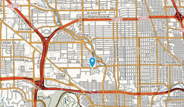 T C Jester Park Map