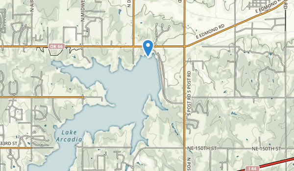trail locations for Tinker Creek Park