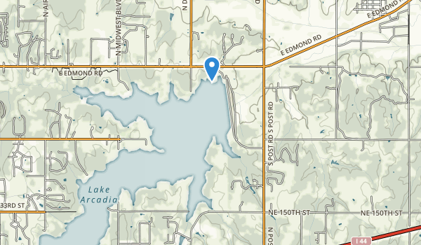 Tinker Creek Park Map