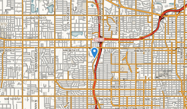 Will Rogers Park Map